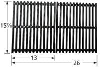 Porcelain Steel Channels Cooking Grid for BBQ Grillware and BBQ Tek