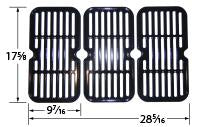 Stamped Porcelain Steel Cooking Grid for Brinkmann and Grill King