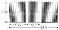 Porcelain Steel Wire Cooking Grid for Charbroil, Kenmore, and Thermos