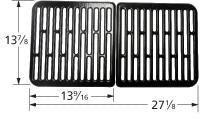Stamped Porcelain Steel Cooking Grid for Aussie Brand Gas Grills