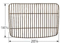 Load image into Gallery viewer, Porcelain Steel Wire Cooking Grid for Uniflame Brand Gas Grills