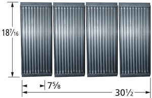 Stamped Stainless Steel Cooking Grid for Charbroil and Kenmore