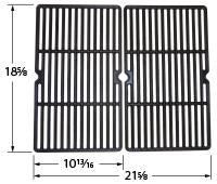 Matte Cast Iron Cooking Grid for Centro and Cuisinart Brand Gas Grills