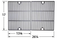Matte Cast Iron Cooking Grid for Charbroil, Kenmore, and NexGrill