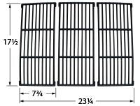 Matte Cast Iron Cooking Grid for Amana and Surefire Brand Gas Grills