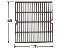 Matte Cast Iron Cooking Grid for Brinkmann Brand Gas Grills
