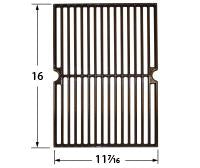 Gloss Cast Iron Cooking Grid for BBQ Tek and Four Seasons