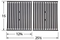 Matte Cast Iron Cooking Grid for Broil King and Broil-Mate