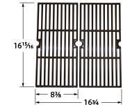 Gloss Cast Iron Cooking Grid for Charbroil Brand Gas Grills