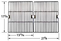 Gloss Cast Iron Cooking Grid for Uniflame Brand Gas Grills