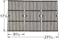 Matte Cast Iron Cooking Grid for Expert Grill Brand Gas Grills