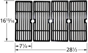Gloss Cast Iron Cooking Grid for Charbroil and Master Forge