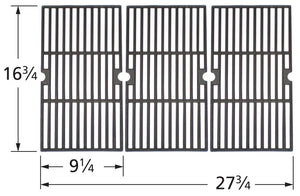 Matte Cast Iron Cooking Grid for Charbroil, Kenmore, and Master Chef