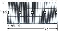 Matte Cast Iron Cooking Grid for Charbroil and Kenmore