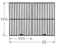 Matte Cast Iron Cooking Grid for Kalamazoo, Kenmore, and NexGrill