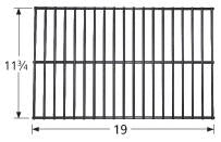 Steel Wire Rock Grate for Arkla, Broilmaster, Charbroil, and Charmglow