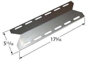 Stainless Steel Heat Plate for Charmglow, Duro, Kirkland, and NexGrill