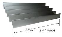 Stainless Steel Heat Plate for Weber Brand Gas Grills
