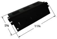 Porcelain Steel Heat Plate for Charbroil, Kenmore, and Thermos