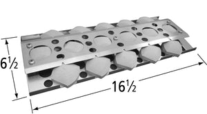 Stainless Steel Heat Plate for NexGrill and Turbo Brand Gas Grills