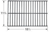 Steel Wire Rock Grate for West BEnd Brand Gas Grills
