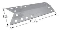 Stainless Steel Heat Plate for Grill Master, Kenmore, and NexGrill