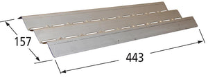Stainless Steel Heat Plate for Broil King, Broil-Mate, and Grill Pro