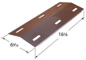 Stainless Steel Heat Plate for Ducane Brand Gas Grills