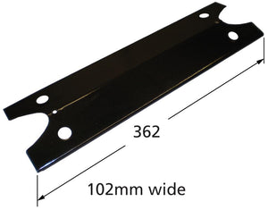Porcelain Steel Heat Plate for Brinkmann and Charmglow