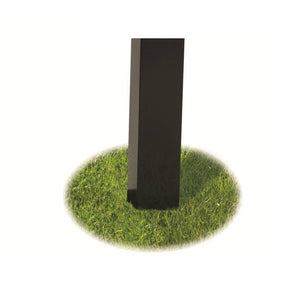 Broilmaster Black Painted Steel In-Ground Post