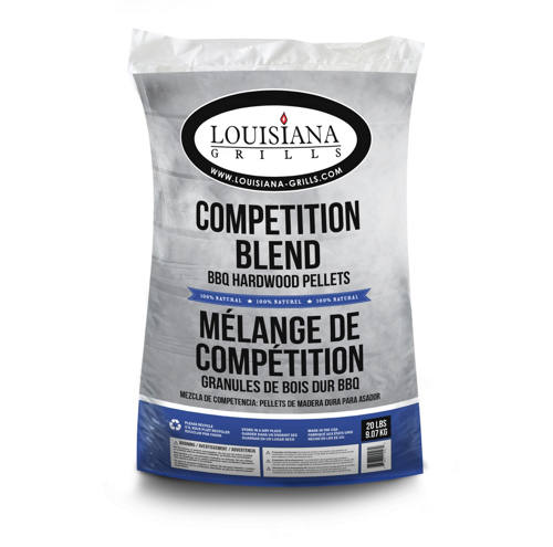 Louisiana 100% All Natural Wood Pellets - Competition Blend - 20 lb bag