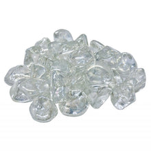 Load image into Gallery viewer, Real Fyre Clear Diamond Nuggets Fyre Glass