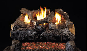 Real Fyre Evening Fyre Charred Vent Free Gas Logs