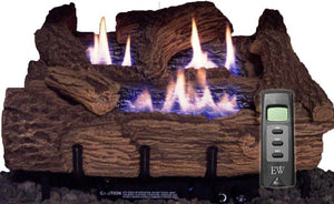 EverWarm Palmetto Vent Free Oak Log Set