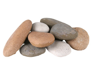 Real Fyre Assorted Color River Rock