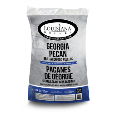 Louisiana Grills 100% All Natural Wood Pellets - Georgia Pecan - 20 lb Bag