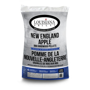 Louisiana Grills 100% All Natural Wood Pellets - New England Apple - 20 lb Bag