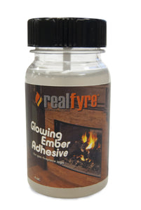 Real Fyre Fireplace Adhesive Glue