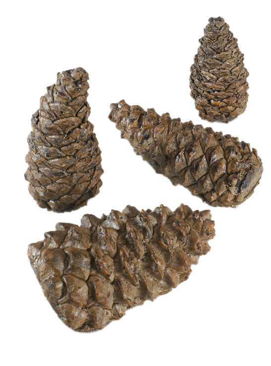 Real Fyre Assorted Sizes Wilderness Pine Cones