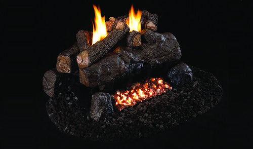 Real Fye Evening Fyre See-Thru Vent Free Logs EFV-2
