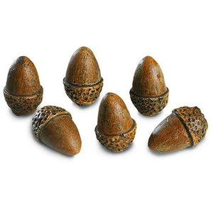 Real Fyre Acorns (Set of 6)