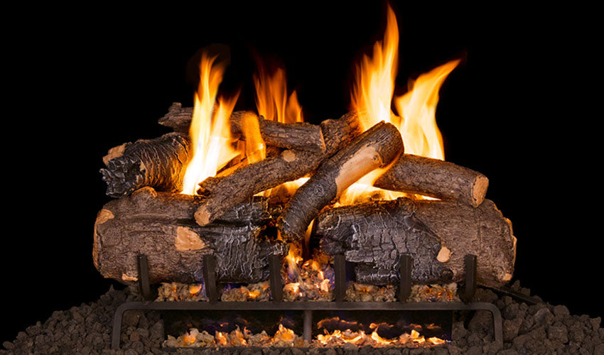 Real Fyre American Oak Vented Gas Logs