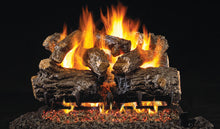 Load image into Gallery viewer, Real Fyre Burnt Rustic Oak Vented Gas Logs