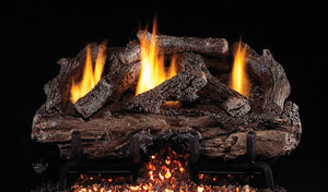 Real Fyre Charred Aged Split Vent Free Gas Logs