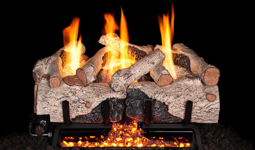 Real Fyre Charred Alpine Birch Vent Free Gas Logs - CHAB