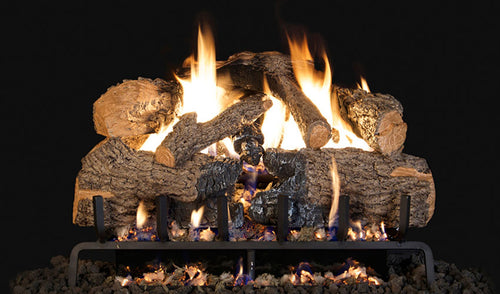 Real Fyre Charred Angel Oak Vented Gas Logs