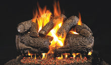 Load image into Gallery viewer, Real Fyre Charred Forest Oak Vented Gas Logs