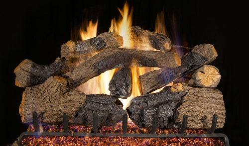 Real Fyre Charred Grizzly Oak Vented Gas Logs