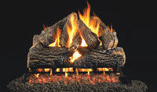 Load image into Gallery viewer, Real Fyre Charred Oak Vented Gas Logs