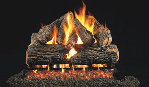 Real Fyre Charred Oak Vented Gas Logs